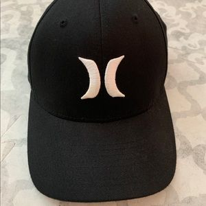 Hurley Flex Fit Black Hat